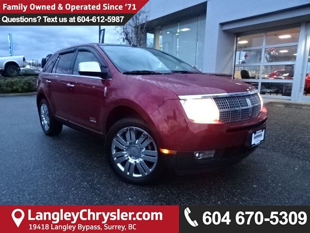 2009 LINCOLN MKX Base in Surrey, British Columbia