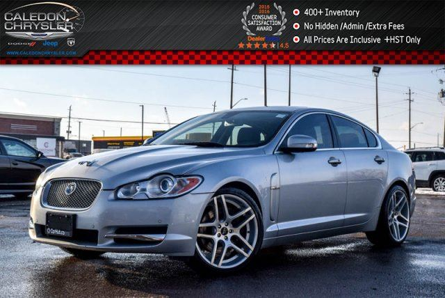 2009 JAGUAR XF Supercharged Navi Sunroof Backup Camera Bluetooth Leather Heat and Cold Seats 20Alloy Rims in Bolton, Ontario