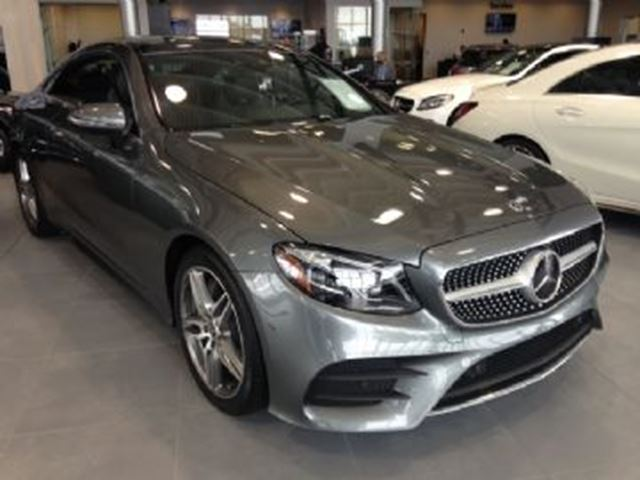2018 MERCEDES-BENZ E-CLASS E400 4Matic Coupe Pre-Paid Services in Mississauga, Ontario