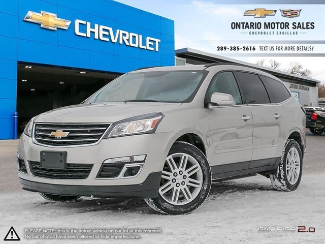 2013 CHEVROLET TRAVERSE 1LT in Oshawa, Ontario