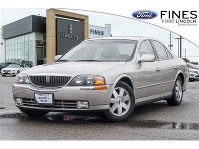 2002 LINCOLN LS V6 - YOU CERTIFY & YOU SAVE! LOW KMS! in Bolton, Ontario