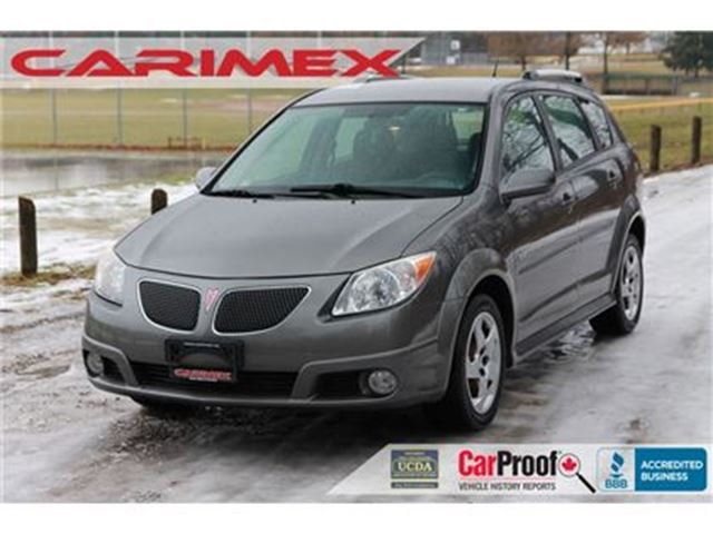 2008 PONTIAC VIBE Base ONLY 118K   CERTIFIED in Kitchener, Ontario