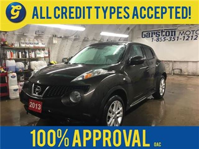 2013 NISSAN JUKE SL*AWD*POWER SUNROOF*PHONE CONNECT*CLIMATE CONTROL in Cambridge, Ontario