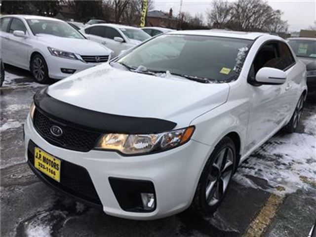 2013 KIA FORTE Koup SX, Automatic, Sunroof, Heated Seats in Burlington, Ontario
