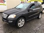2011 Mercedes-Benz M-Class ML 350 BlueTEC, Navi, Leather, Sunroof, AWD in Burlington, Ontario