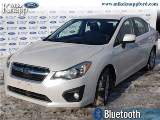 2012 SUBARU IMPREZA - Low Mileage in Welland, Ontario