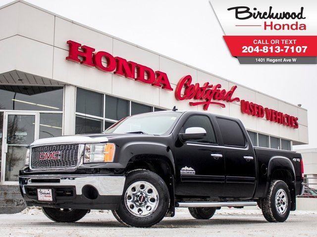 2012 GMC SIERRA 1500 SL Nevada Edition AWD in Winnipeg, Manitoba