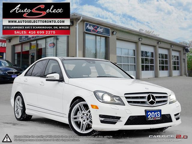 2013 MERCEDES-BENZ C-CLASS 4Matic C350 AWD ONLY 70K! **TECHNOLOGY PKG** AMG SPRT PKG in Scarborough, Ontario