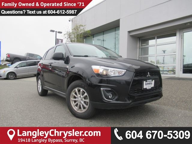 2015 MITSUBISHI RVR GT *ACCIDENT FREE * LOCAL BC CAR * in Surrey, British Columbia
