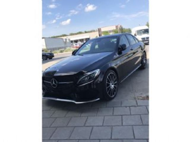 2017 MERCEDES-BENZ C-CLASS C43 AMG 4MATIC SEDAN LOADED & ALL PROTECTIONS $$ in Mississauga, Ontario