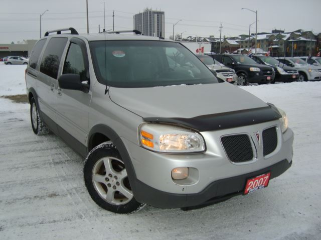 2007 PONTIAC MONTANA SV6 Ext. DVD Only 139km 2 Owners in Cambridge, Ontario
