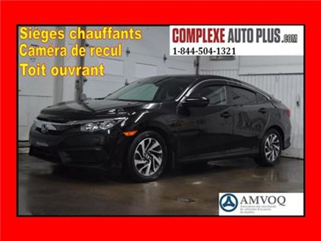 2016 HONDA CIVIC EX *Toit ouvrant,Camera recul,Mags in Saint-Jerome, Quebec