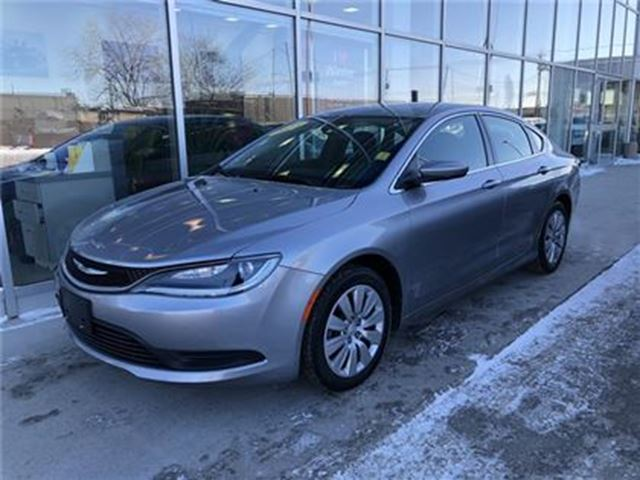 2015 CHRYSLER 200 LX in Winnipeg, Manitoba