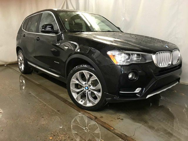 2017 BMW X3 xDrive28i / GPS Navigation / Sunroof in Edmonton, Alberta