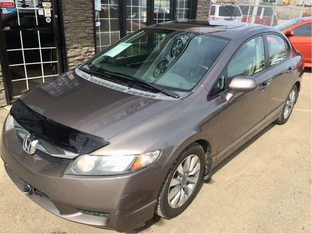 2009 HONDA CIVIC EX-L LOADED One Owner!! in Edmonton, Alberta