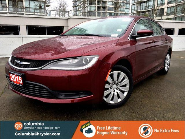 2015 CHRYSLER 200 LX in Richmond, British Columbia