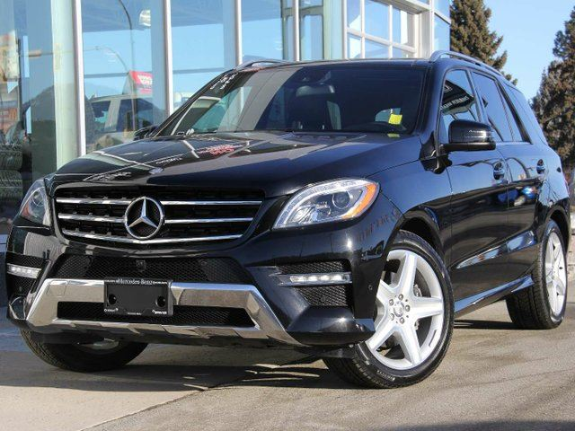 2015 MERCEDES-BENZ M-CLASS ML 350 BlueTEC 4dr All-wheel Drive 4MATIC in Kamloops, British Columbia
