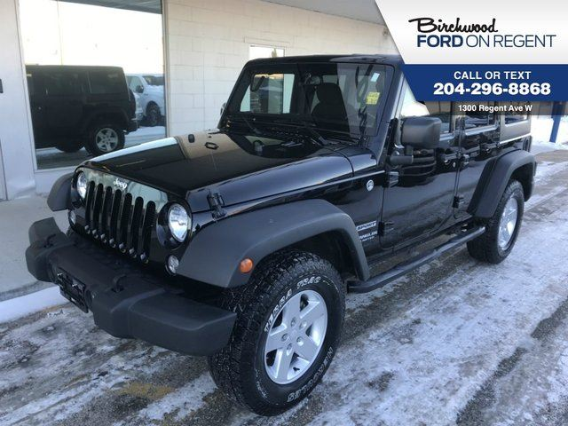 2015 JEEP WRANGLER Unlimited Sport Unlimited 4X4*Accident Free/Local Trade in Winnipeg, Manitoba