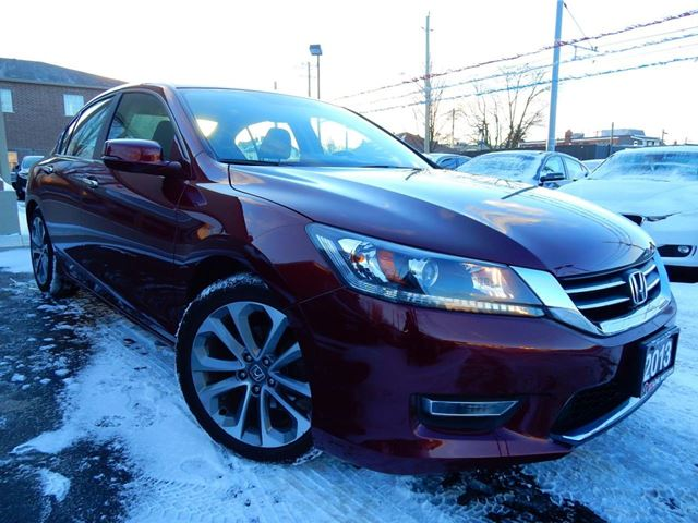 2013 HONDA ACCORD SPORT  AUTO  LOADED  ONE OWNER in Kitchener, Ontario