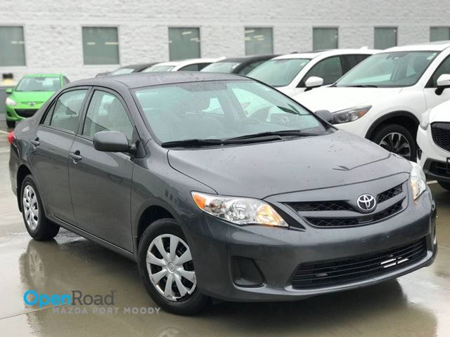 2013 TOYOTA COROLLA CE A/T Local CD Player USB AUX A/C Power Lock T in Port Moody, British Columbia