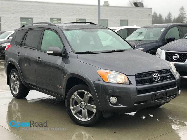 2010 TOYOTA RAV4 Sport A/T 4WD V6 No Accident Local CD Player AU in Port Moody, British Columbia