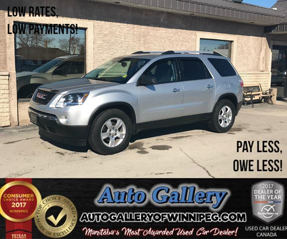 2012 GMC ACADIA SLE1 *AWD in Winnipeg, Manitoba