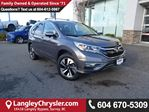 2016 Honda CR-V Touring *ACCIDENT FREE * LOCAL BC SUV * in Surrey, British Columbia