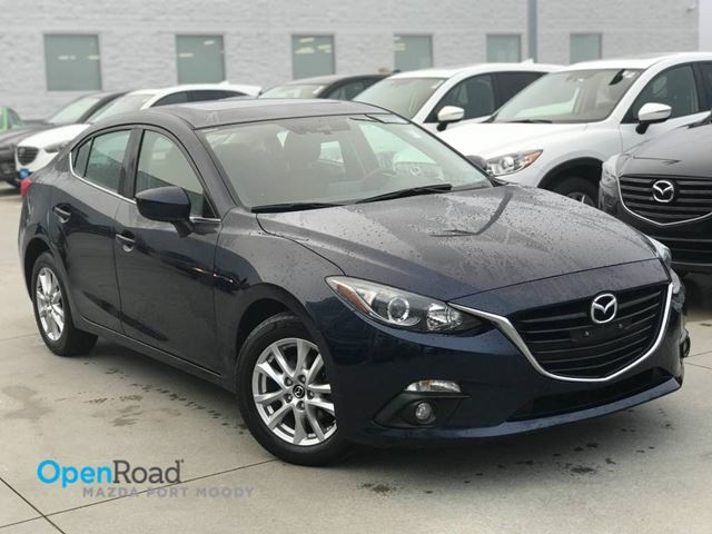 2015 Mazda MAZDA3 GS Sdn A/T Local One Owner Bluetooth USB AUX Re in Port Moody, British Columbia
