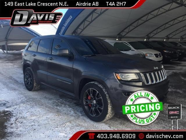 2016 JEEP GRAND CHEROKEE SRT in Airdrie, Alberta