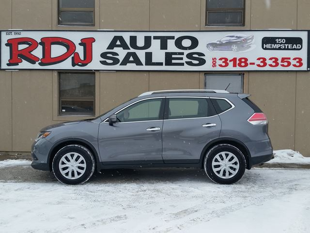 2015 Nissan Rogue S 1 OWNER ACCIDENT FREE. in Hamilton, Ontario