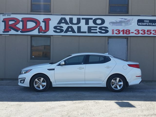 2015 KIA OPTIMA LX ACCIDENT FREE.ONLY 40000KM in Hamilton, Ontario