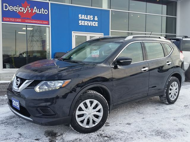 2015 NISSAN ROGUE S AWD in Brantford, Ontario