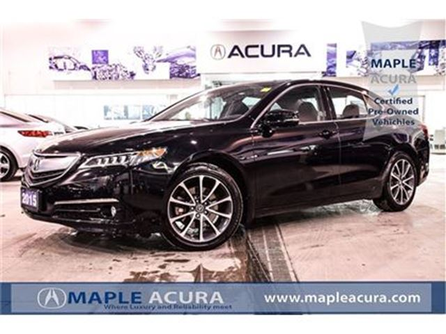 2015 Acura TLX V6 Elite, front cool seats, Acura watch. in Maple, Ontario