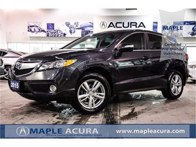 2015 Acura RDX Prem Pkg, leather, sunroof, AWD, 18 alloy wheels in Maple, Ontario