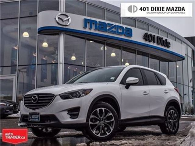 2016 MAZDA CX-5 GT, LOW FINANCE RATE,NO ACCIDENTS in Mississauga, Ontario