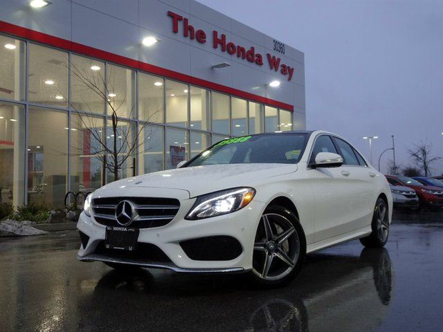 2015 MERCEDES-BENZ C-CLASS C300 4MATIC Sedan in Abbotsford, British Columbia