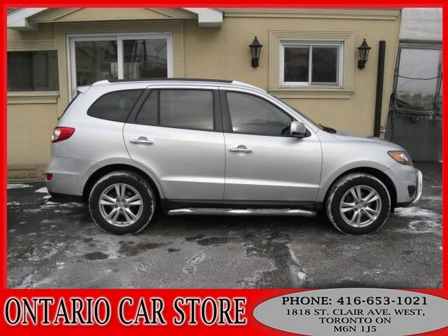 2011 Hyundai Santa Fe LIMITED AWD NAVIGATION LEATHER SUNROOF in Toronto, Ontario