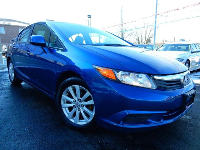 2012 HONDA CIVIC EX-L  NAVI  LEATHER.ROOF  ONE OWNER in Kitchener, Ontario