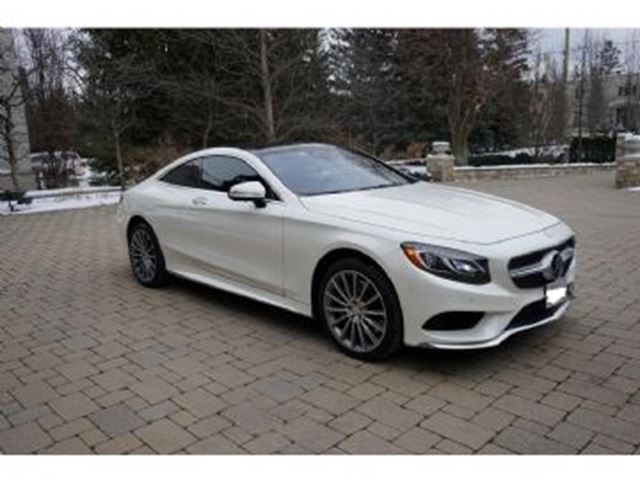 2016 MERCEDES-BENZ S-CLASS S550 4Matic Coupe in Mississauga, Ontario