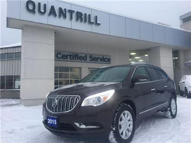 2015 BUICK ENCLAVE Leather in Port Hope, Ontario