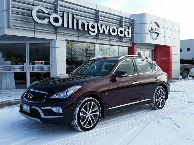 2017 Infiniti QX50 AWD *EXECUTIVE DEMO* in Collingwood, Ontario