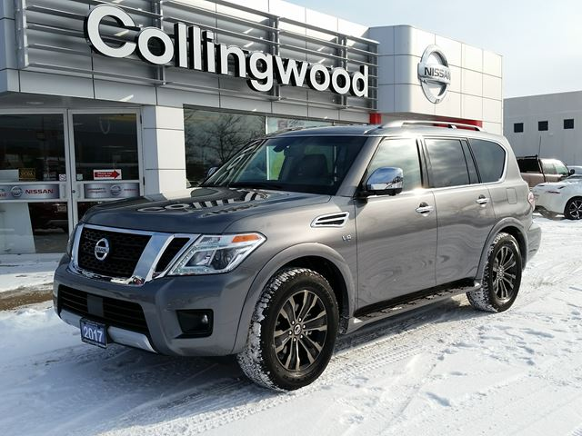 2017 Nissan Armada Platinum *CORPORATE DEMO* in Collingwood, Ontario