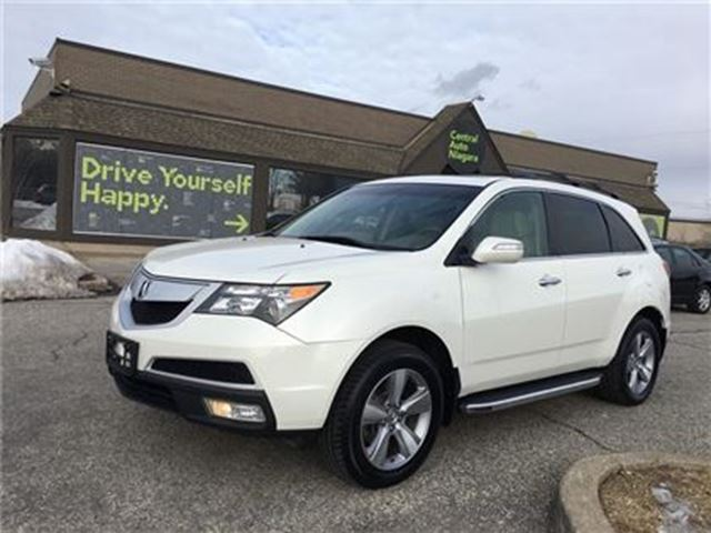 2012 ACURA MDX Tech Pkg / NAVIGATION / SUNROOF / LEATHER in Fonthill, Ontario