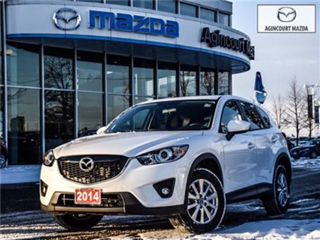 2014 MAZDA CX-5 GS-2.5L-SUNROOF, BLIND SPOT, POWER SEAT, BACK UP in Scarborough, Ontario