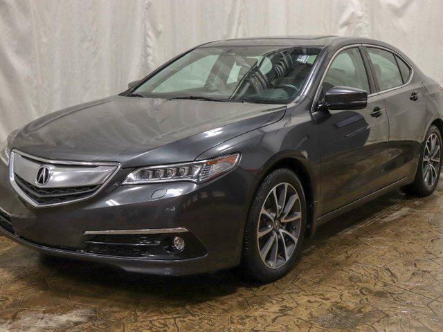 2015 ACURA TLX Elite SH-AWD w/ Navigation, Sunroof, Leather in Edmonton, Alberta