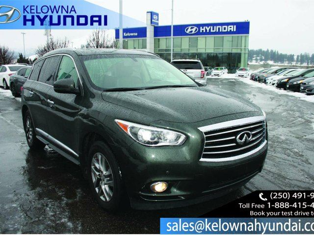 2013 INFINITI JX Base All-wheel Drive Sport Utility in Kelowna, British Columbia