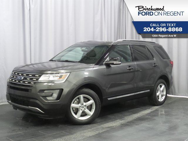 2017 FORD EXPLORER XLT 4WD*7 Passenger/Leather/Sky Roof* in Winnipeg, Manitoba