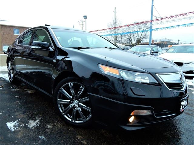2014 ACURA TL A-SPEC SH-AWD  LEATHER.ROOF  ONE OWNER in Kitchener, Ontario