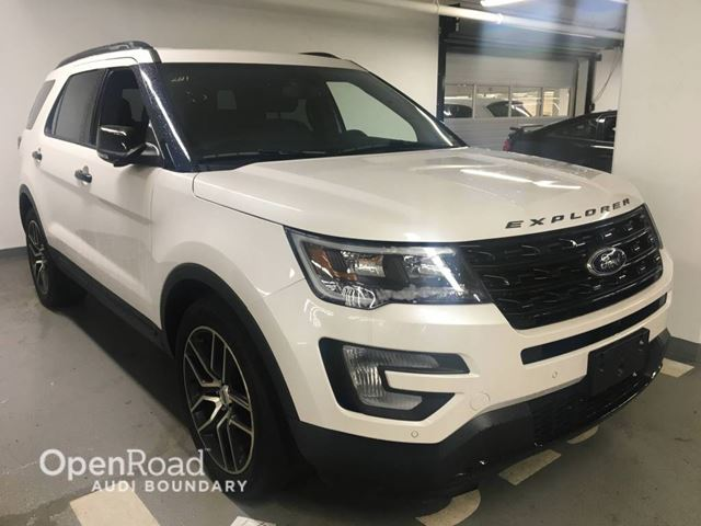 2017 FORD EXPLORER 4WD 4dr Sport in Vancouver, British Columbia