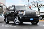 2017 Toyota Sequoia Platinum, Entertainment system, Navigation, Fro in Richmond, British Columbia
